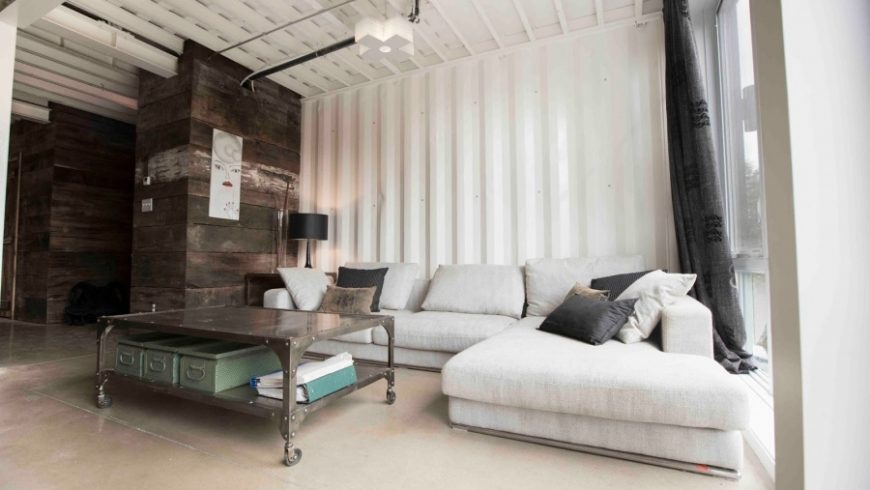 This ingenious lady built her new home out of shipping containers — and it looks fantastic