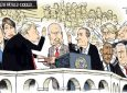 News through the eyes of cartoonists