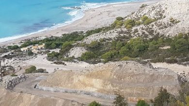 Gradually restoration of the access to the beaches Yialos and Egremni