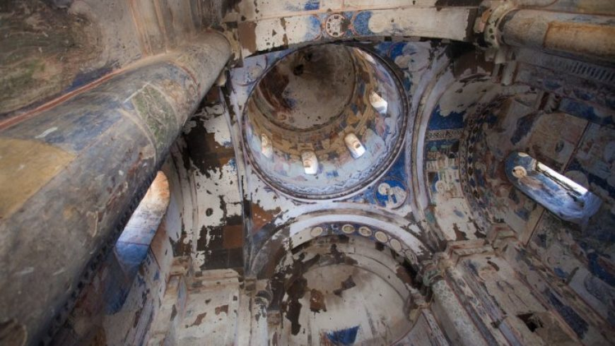 Old Byzantine Church Found in Underground City in Turkey