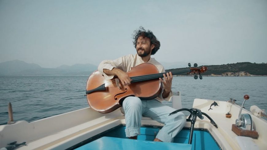 "Enjoy this beautiful video of the Greek folk song ""Milo mou Kokino"" performed in a special CrazyCello"