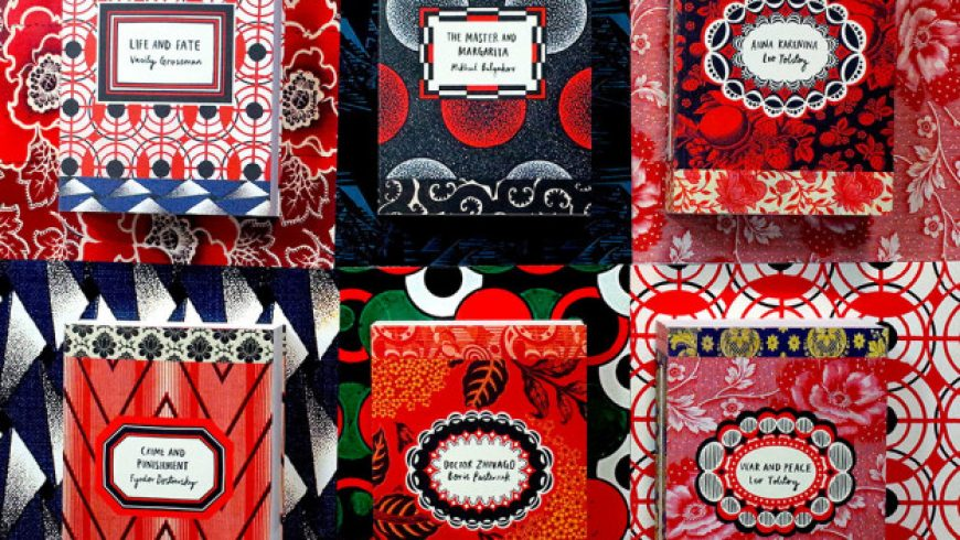 6 Gorgeous New Covers For Russian Literary Classics