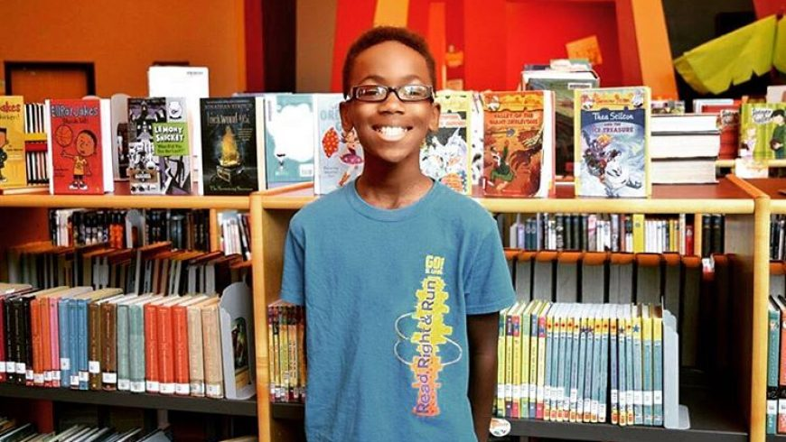 11-year-old starts club for young black boys to see themselves in books