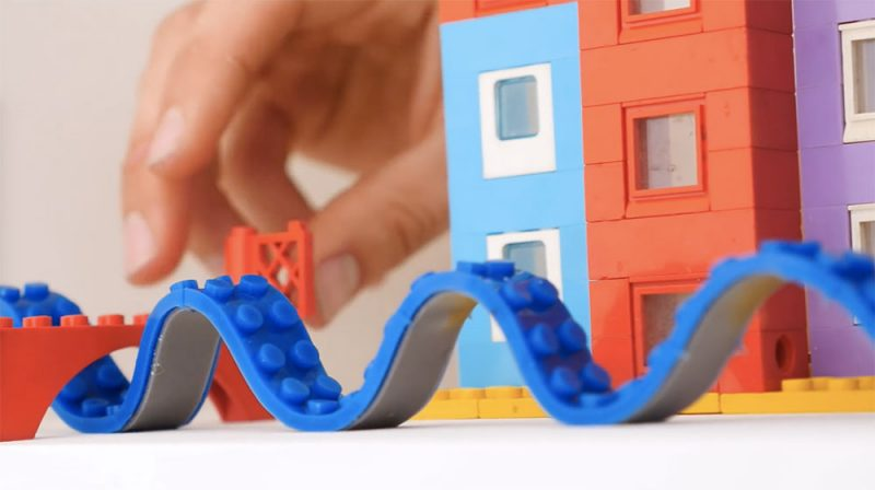 New reusable adhesive tape makes any surface instantly compatible with Lego bricks
