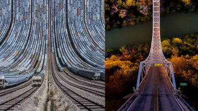 Flatland II: A new series of dramatically skewed photographic landscapes by Aydin Büyüktas