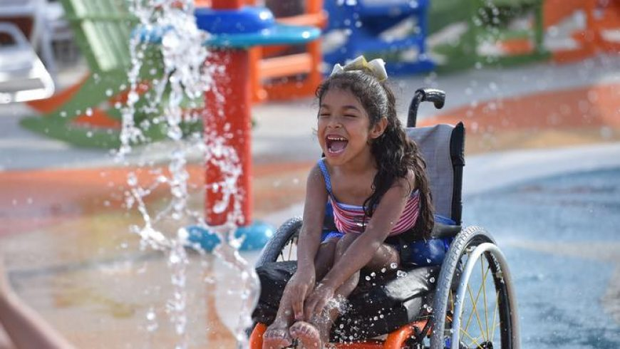 The world's first water park for people with disabilities