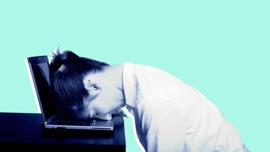 Why Sitting at Your Computer All Day Can Wipe You Out