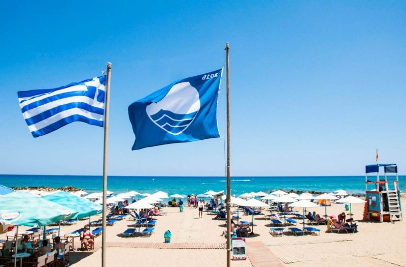 Greece's Beaches Rank 2nd in World on 2017 Blue Flag Award List
