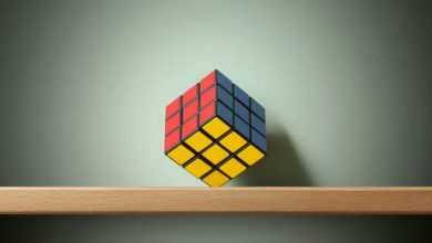 How to Solve a Rubik's Cube in Five Steps