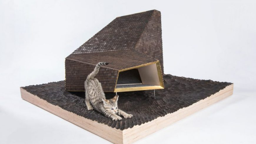 LA Architects and Designers Build Imaginative Outdoor Cat Dwellings for Charity