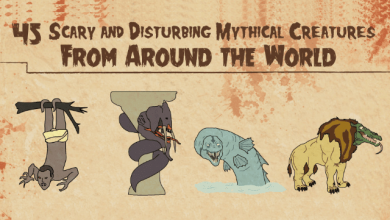 The 45 most disturbing mythical creatures from around the world