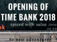 Opening of Time Bank 2018