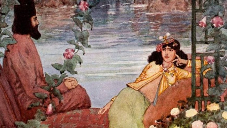 The Rubaiyat: History's most luxurious book of poetry?