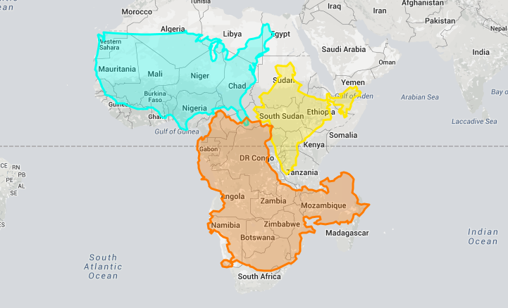 "Eye-Opening ""True Size Map"" Shows the Real Size of Countries on a Global Scale"