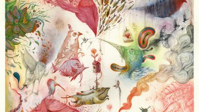 Fantastical Swirls of Strange Hybrid Creatures Fill Vorja Sánchez's New Illustrations