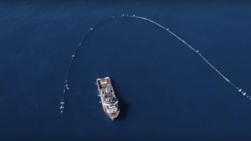 System 001: An innovative design to remove plastic from the ocean