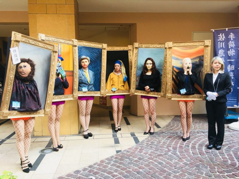 Art historical masterworks come alive at annual Halloween parade in Kawasaki, Japan