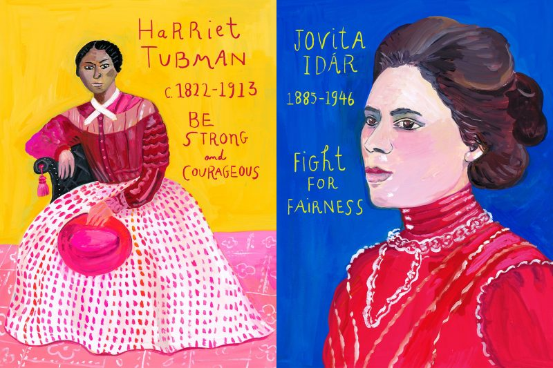 An illustrated celebration of the rebels, visionaries, and fiercely courageous world-changers who won women political power