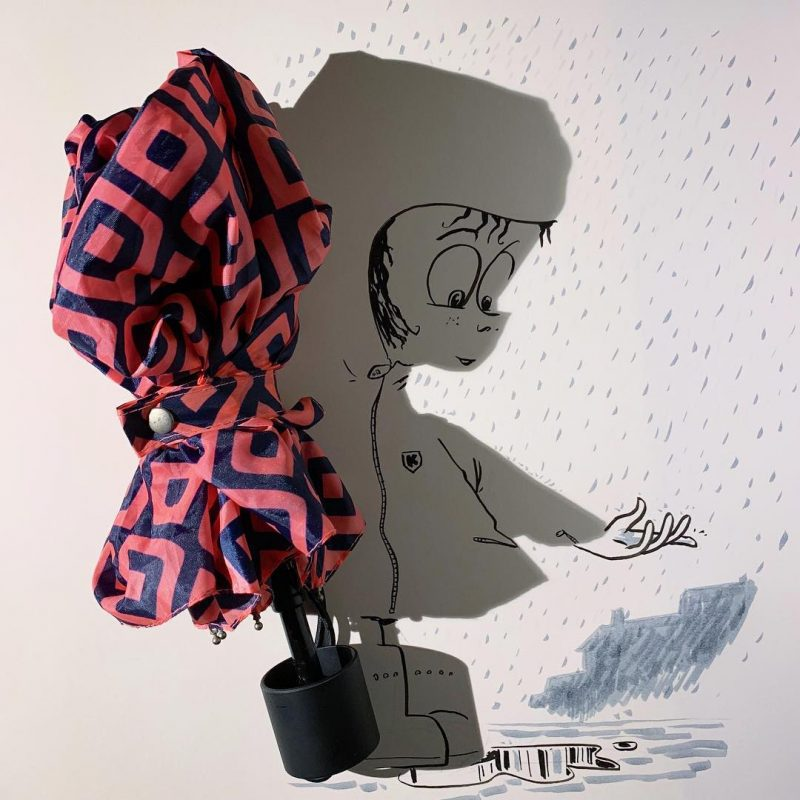 Shapely shadows reimagined as quirky illustrations by Vincent Bal