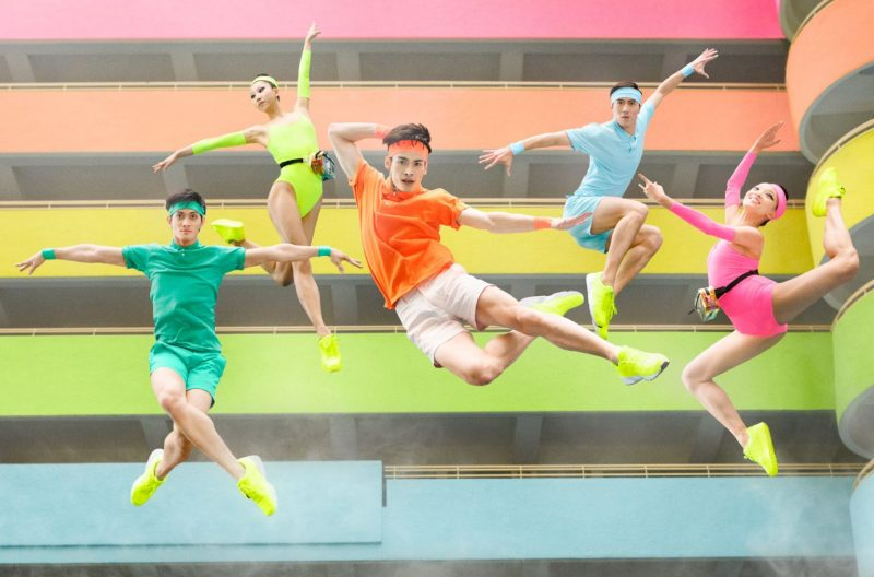 Neon-clad ballet dancers take the streets of Hong Kong by storm in celebration of their 40th year