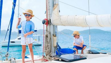 Five reasons your kids should sail