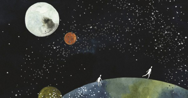 Eating the Sun: A lovely illustrated celebration of wonder, the science of how the universe works, and the existential mystery of being human