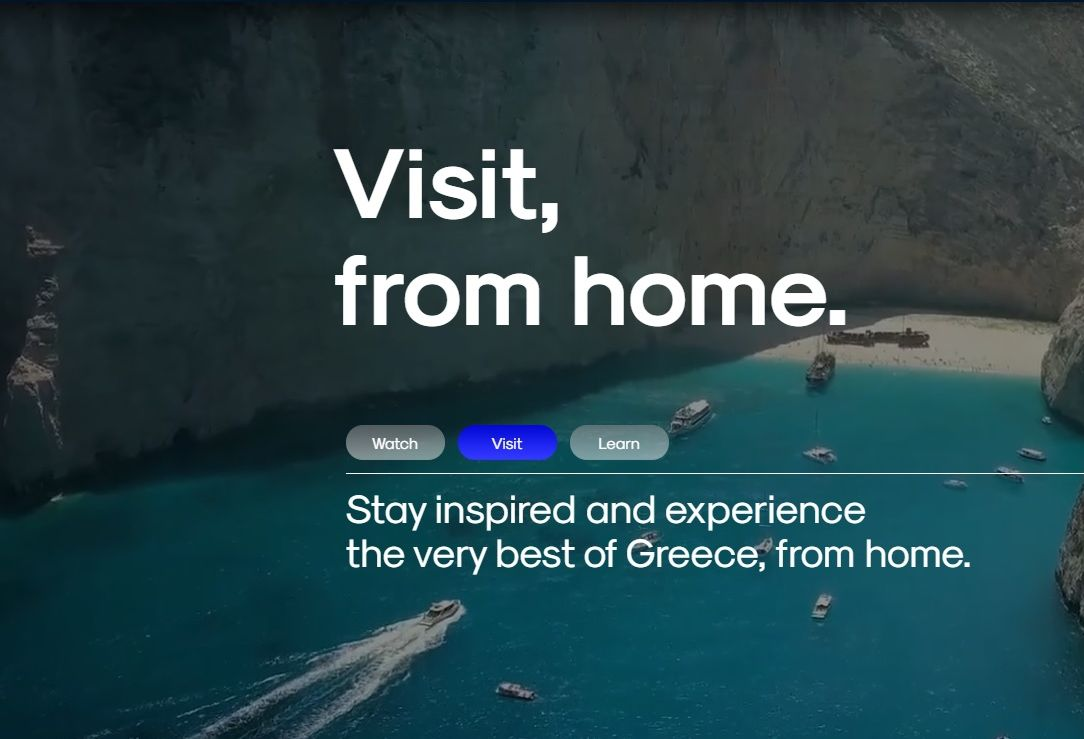 Greece Invites the World to Keep in Touch… from Home