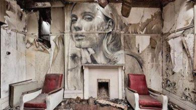 Ο καλλιτέχνης δρόμου Rone και η «κρυμμένη ομορφιά» των εγκαταλελειμμένων κτιρίων