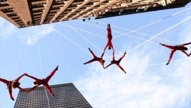 Bandaloop, οι μάγοι του χορού ακροβατούν στους ουρανοξύστες