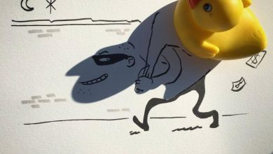Artist Vincent Bal Turns the Shadows of Everyday Objects into Ingenious Illustrations