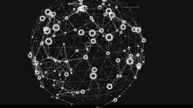 Ένας μουσικός γαλαξίας φτιαγμένος από τυχαία λήμματα της Wikipedia