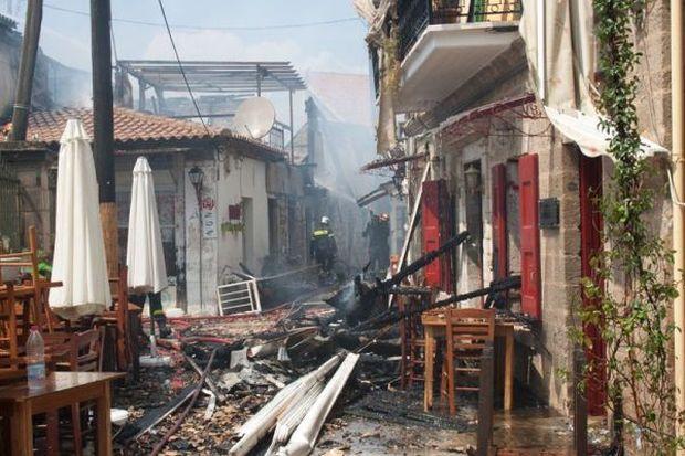 Ερώτηση του βουλευτή Λευκάδας για την ενίσχυση των πληγέντων από τη καταστρεπτική πυρκαγιά