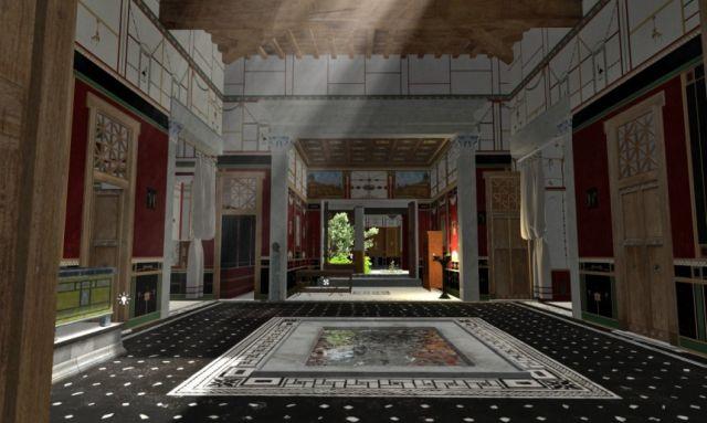 Κι αν μπορούσαμε να περιηγηθούμε σ' ένα σπίτι της αρχαίας Πομπηίας;