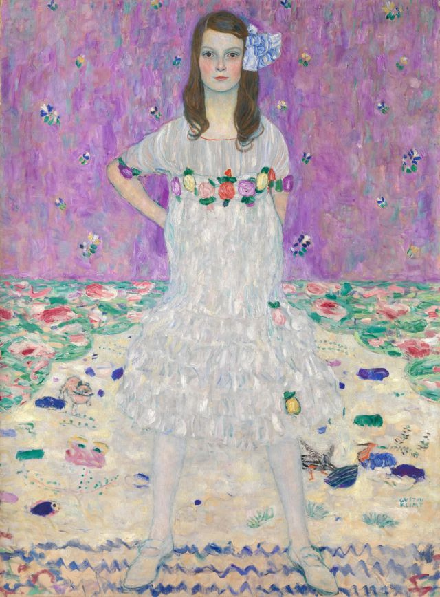 The Story Behind Gustav Klimt's Portrait Of An 'Independent' 9-Year-Old Girl