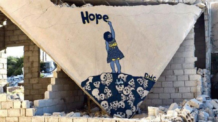 Πώς ένας αντάρτης από τη Συρία έγινε ο «νέος Μπάνκσι»