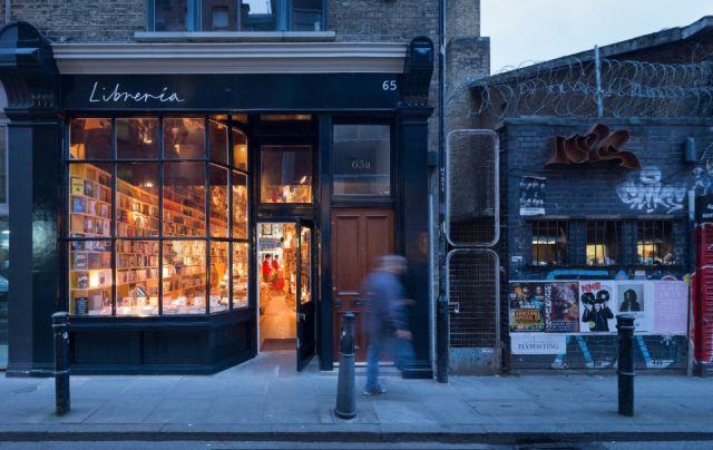Ένα θεϊκό βιβλιοπωλείο στη Brick Lane