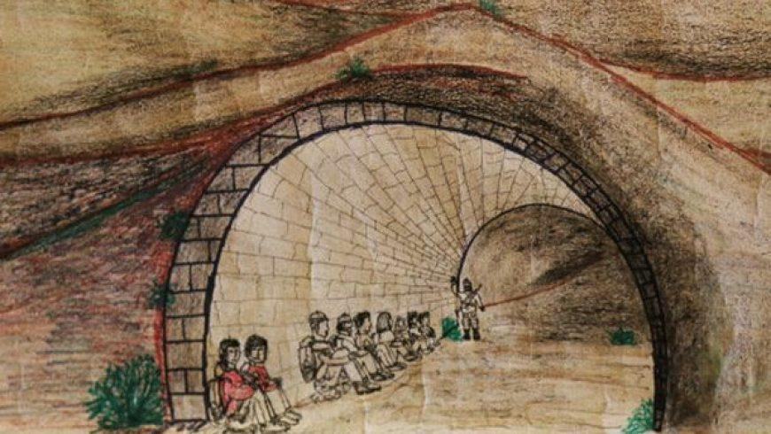 Η αυτοβιογραφική ζωγραφική ενός 16χρονου πρόσφυγα
