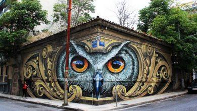 Το γκράφιτι στο Μεταξουργείο που έχει προκαλέσει παγκόσμιο θαυμασμό