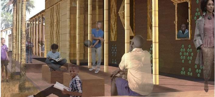 Ελληνίδες φοιτήτριες αρχιτεκτονικής φτιάχνουν σχολικές αίθουσες στη Γκάνα
