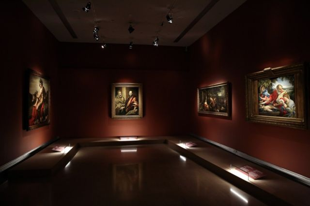 Oι πρώτες φωτογραφίες από τα αριστουργήματα του Ερμιτάζ στο Bυζαντινό και Χριστιανικό Μουσείο