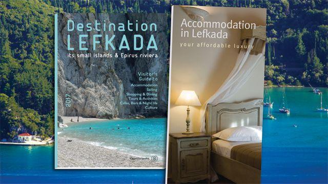 Δύο σημαντικές εκδόσεις για την τουριστική προβολή της Λευκάδας εν όψει των διεθνών εκθέσεων