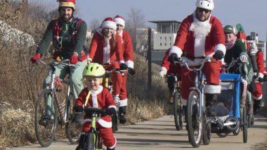 Κάθε ποδηλάτης γίνεται Άγιος Βασίλης για μία μέρα!