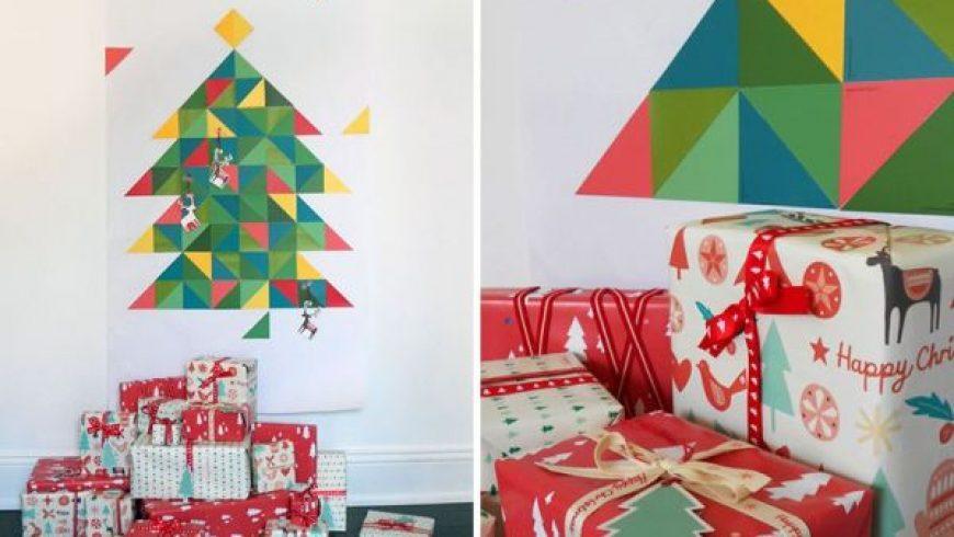 12 DIY εναλλακτικά χριστουγεννιάτικα δέντρα
