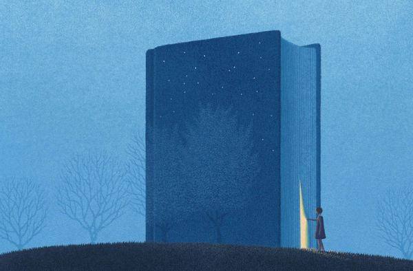 Σουρεαλιστικά σκίτσα για όσους αγαπούν τα βιβλία από τον Κορεάτη καλλιτέχνη Jungho Lee
