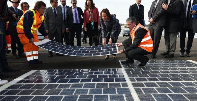 Ο πρώτος φωτοβολταϊκός δρόμος είναι γεγονός
