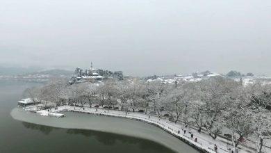 Τα όμορφα Ιωάννινα χιονισμένα!