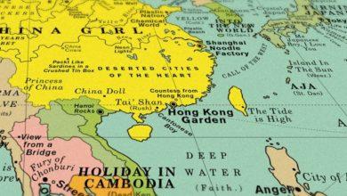 Ένας παγκόσμιος χάρτης τραγουδιών