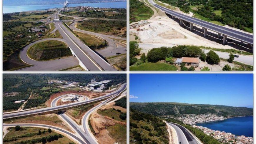 Ιόνια Οδός: Τον επόμενο μήνα θα παραδοθούν τα τμήματα Καμπή-Πέρδικα και Γαβρολίμνη-Κεφαλόβρυσο
