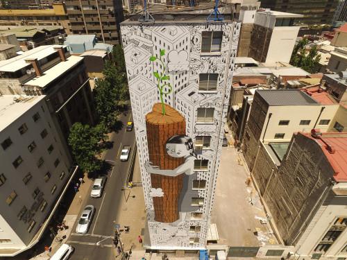 «Μην τα παρατάς, ποτέ» λέει η street art του Millo