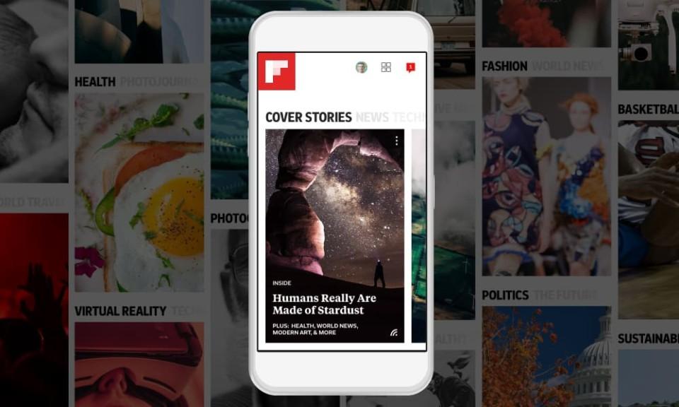 Στο Flipboard θα φτιάξετε το δικό σας περιοδικό!